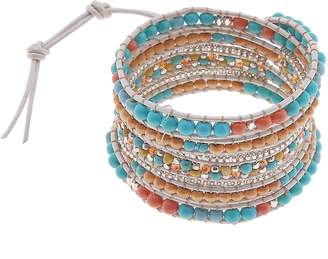 Nakamol Design All Stone Wrap Bracelet