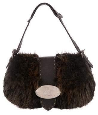 Fendi Beaver Selleria Handle Bag