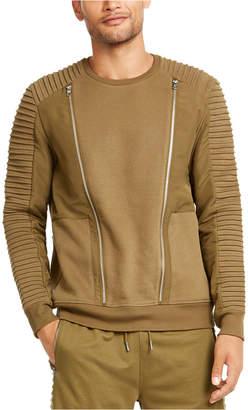 INC International Concepts Inc Men Regular-Fit Pieced Zipper Sweatshirt