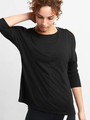 Gap GapFit Cold-Shoulder Top