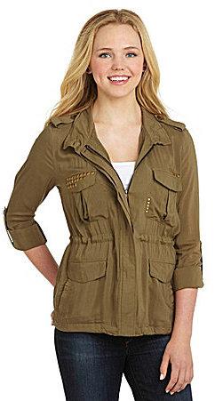 Miss Me Army Jacket