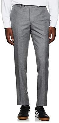 Barneys New York Men's Yellnik Wool Flannel Slim Trousers