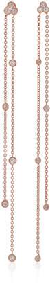 Carbon & Hyde Poppy 14K Rose Gold Diamond Earrings