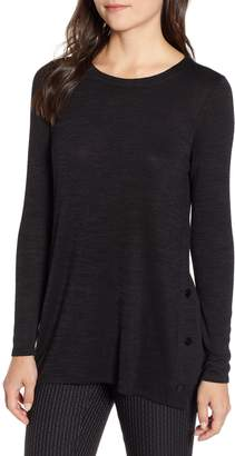 Nic+Zoe Every Occasion Button Side Top