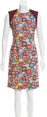 Emilio Pucci Emilio Pucci Printed Sheath Dress w/ Tags