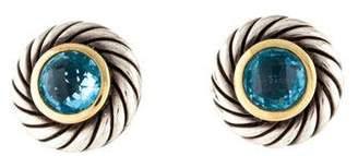 David Yurman Topaz Color Classics Large Earrings