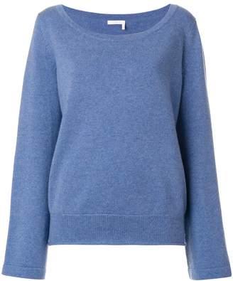Chloé cashmere wide neck sweater