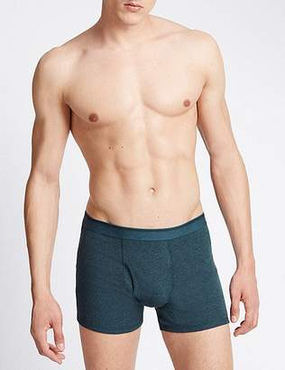 """Marks and Spencer 3 Pack Pure Cotton Cool & Freshâ""""¢ Trunks"""