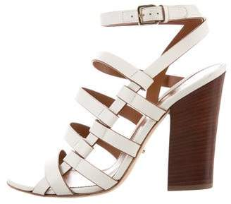 Sergio Rossi High-Heel Cage Sandals