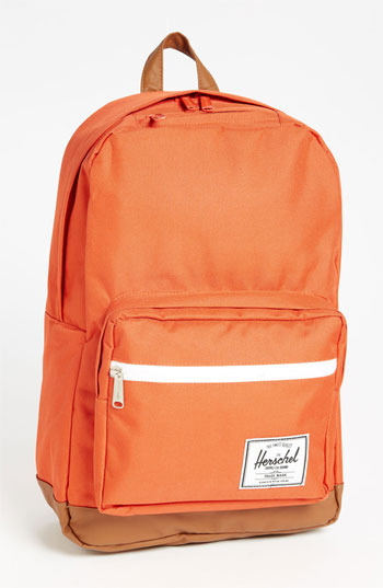 Herschel 'Pop Quiz' Backpack Camper Orange One Size