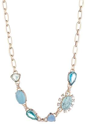 """Carolee Stone Front Necklace, 16"""""""