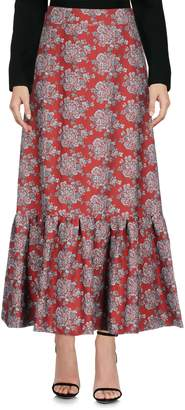 Rose' A Pois Long skirts - Item 35376628UP