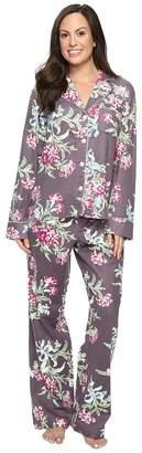 Carole Hochman Packaged Flannel Pajama Women's Pajama Sets