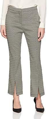 Nanette Lepore Nanette Women's Ankle Length Front Slit Pant