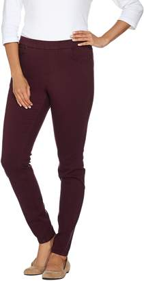 Denim & Co. Petite 5 Pocket Colored Denim Pull-on Jeggings