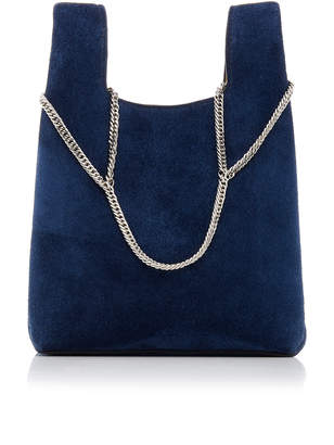 Hayward Chain Suede Mini Shopper Bag