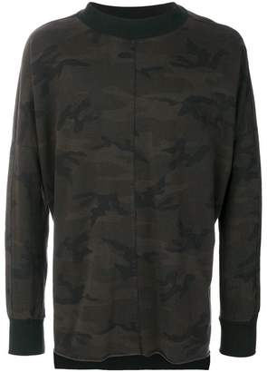 Daniel Patrick camouflage sweater