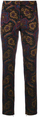 Cambio floral pattern trousers