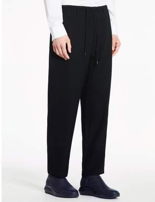 Calvin Klein tucked wool drop crotch pants