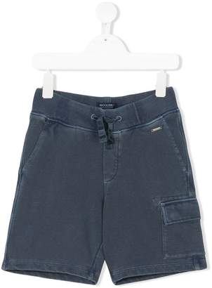 Woolrich Kids cargo pocket shorts