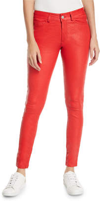 Zadig & Voltaire Phlame Leather Skinny Ankle Pants