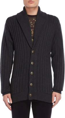Dolce & Gabbana Shawl Collar Cashmere Cardigan