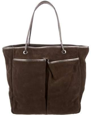 Anya Hindmarch Suede Leather Tote