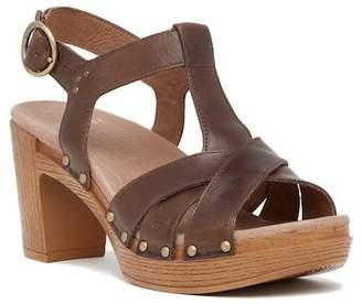 Dansko Daniela Slingback Leather Sandal