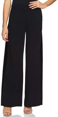 CeCe Velveteen Stripe Wide Leg Pants