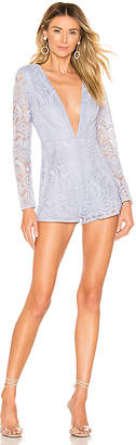 superdown Lourdes Deep V Romper
