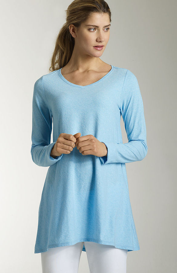 NEW Pure Jill long-sleeve elliptical tee