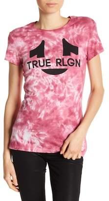 True Religion Horseshoe Tie Dye Graphic Tee