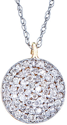 Forever Creations USA Inc. Forever Creations 14K Two-Tone 0.50 Ct. Tw. Diamond Necklace