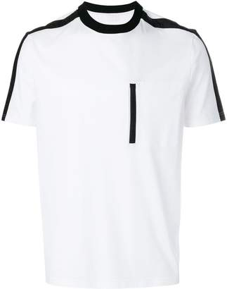Prada piped chest pocket T-shirt
