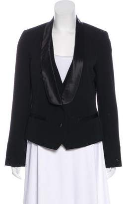 Tory Burch Shawl-Lapel Wool Blazer
