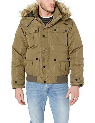Rocawear Men's Big and Tall Bomber Parka Jacket