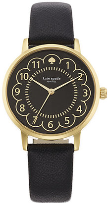 Black and gold scallop metro $195 thestylecure.com