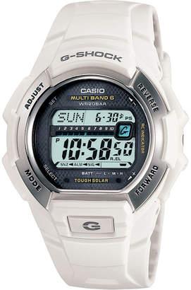 G-Shock G SHOCK Multi-Band Atomic Time White Solar Watch GW-M850-7JCP