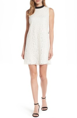 Women's Cece Tie Back Lace Dress $139 thestylecure.com