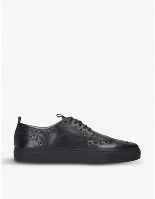 Sneaker 3 low-top leather trainers