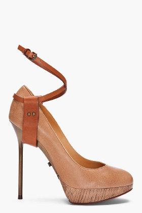 LANVIN Ankle Strap Pumps