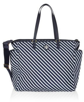 Tory Burch Tory Burch Scout Stripe Nylon Messenger Bag