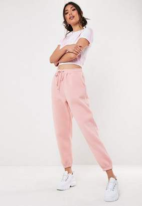 Missguided Petite Pink 90'S Joggers, Pink