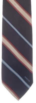 Lanvin Striped Woven Tie