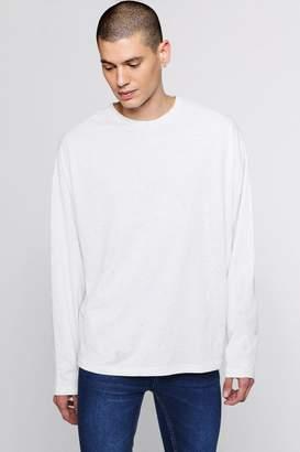 Long Sleeve Oversized Nepp T-Shirt