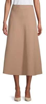 Valentino Contrast Midi Skirt