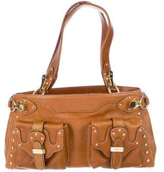 MICHAEL Michael Kors Studded Shoulder Satchel
