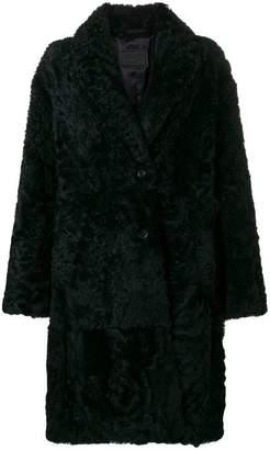 Prada mid-length fur coat