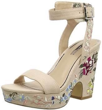 041085423611 Miss Selfridge Women s Embroidered Ankle Strap Sandals 37 EU