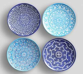 Pottery Barn Hampton Melamine Salad Plate, Set of 4 - Assorted